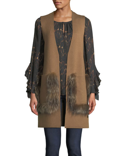 Lee Ruffle-Sleeve Blouse in Silk and Matching Items