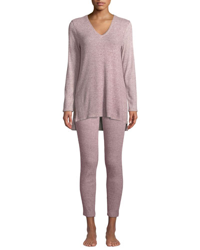 Ulla Rib-Knit Lounge Tunic and Matching Items