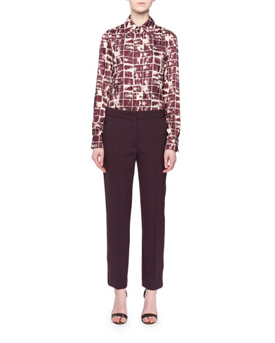 Cinemas-Frames Print Button-Front Long-Sleeve Shirt and Matching Items