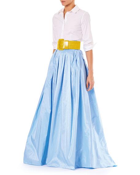 Finale Silk Ball Skirt w/ Train