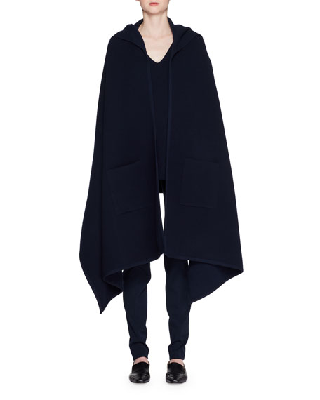 Bobo Hooded Wool-Blend Shawl