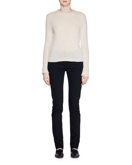 Droi Crewneck Long-Sleeve Cashmere-Blend Sweater