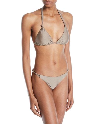 Beach Glow Karli Triangle Bikini Top and Matching Items