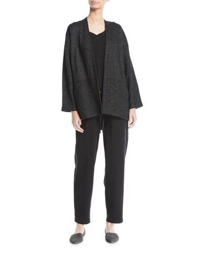 Melange Knit Kimono Jacket  and Matching Items