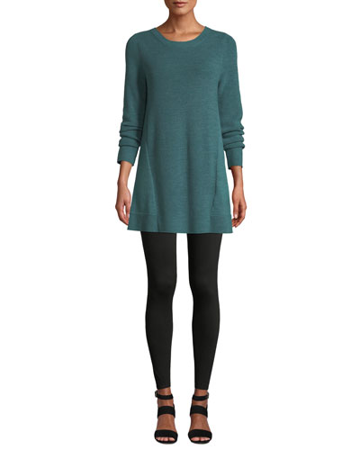 Merino Wool Tunic Sweater, Plus Size and Matching Items