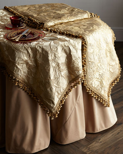Sweet Dreams Palais Royale Table Runner Palais Royale Velvet Tablecloth  Palais Royale Square Table Cloth
