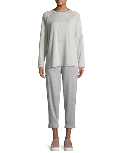 Long-Sleeve Tencel Fleece Top and Matching Items