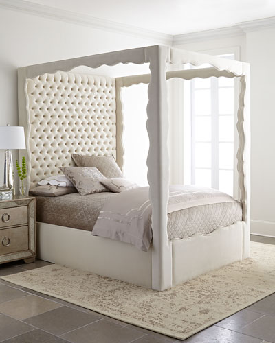 Empress King Canopy Bed and Matching Items