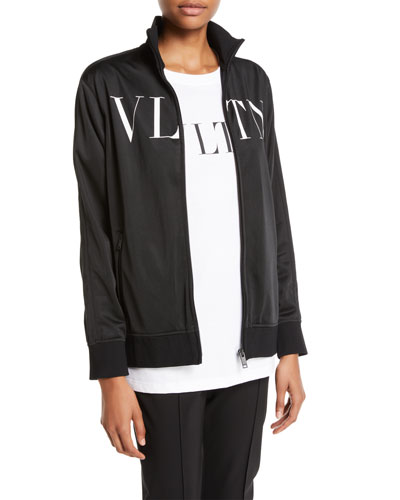 VLTN Logo Zip-Front Jersey Track Jacket and Matching Items