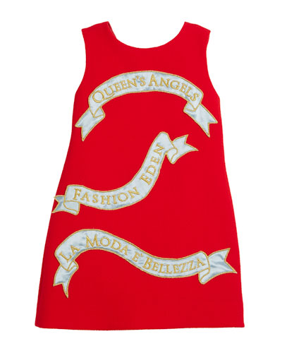 Queen's Angels Sleeveless Dress, Size 4-6  and Matching Items