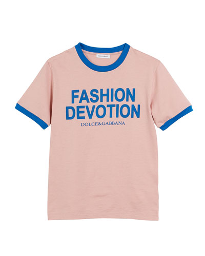 Fashion Devotion Short-Sleeve Jersey T-Shirt, Size 4-6  and Matching Items
