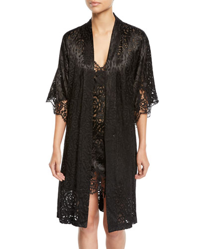 Floral Lace Dressing Robe and Matching Items