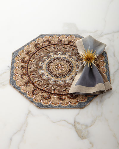 Dip-Dye Linen Napkin, Neutral and Matching Items