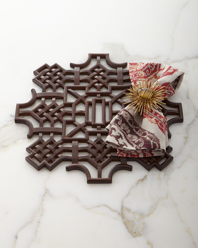 Medallion Linen Napkin and Matching Items