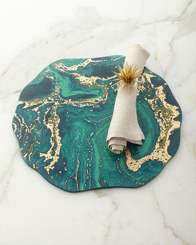 Metallic Linen Napkin and Matching Items
