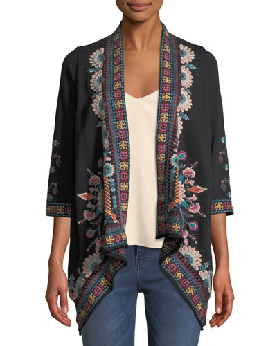Delphine Draped Cardigan  and Matching Items