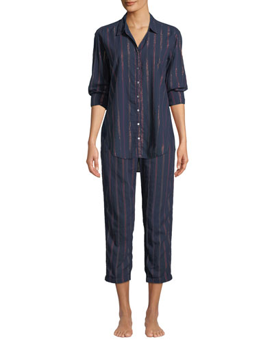 Kalvyn Beckett Striped Pajama Pants and Matching Items