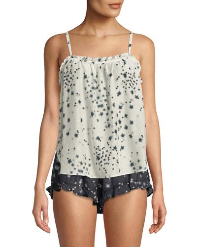 Beau Etoile-Print Lounge Shirt and Matching Items