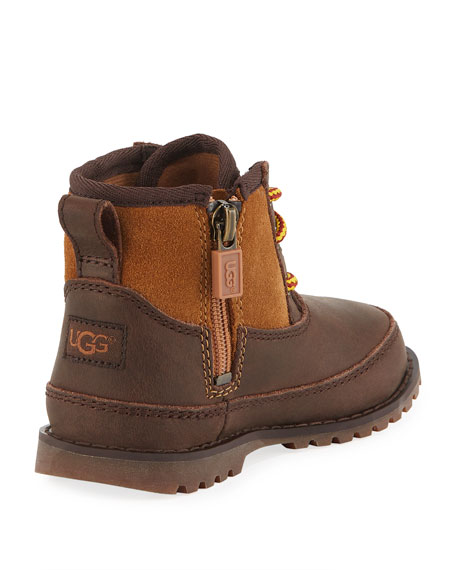 Bradley Suede & Leather Waterproof Boots, Toddler