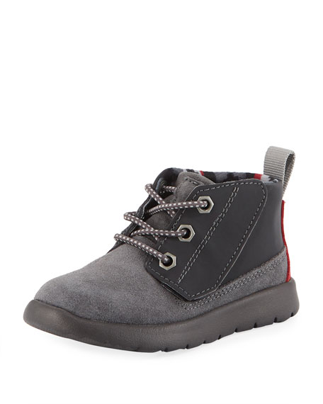 Boys' Suede Canoe Reflective Boots, Toddler