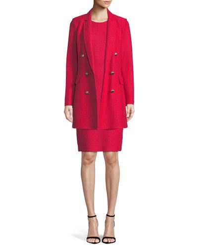 Adina Sleeveless Sheath Dress and Matching Items