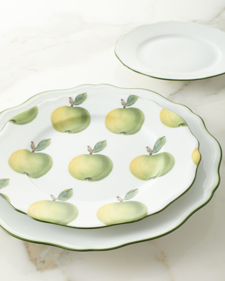 Touraine Double Filet Dessert Plate