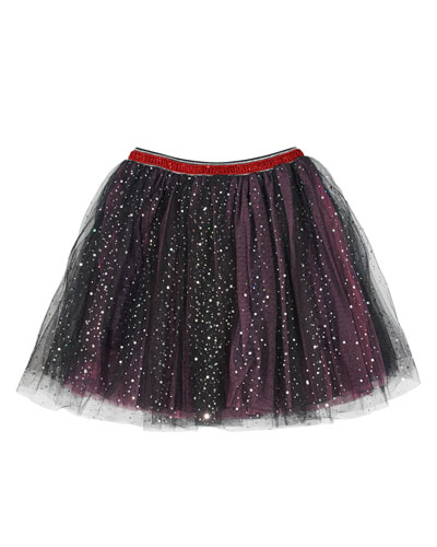 Glitter Dot Tulle Tutu Skirt, Size 4-6X and Matching Items