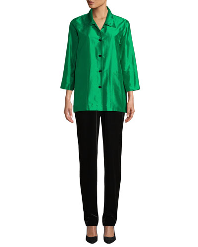 Silk Shantung Occasion Shirt  and Matching Items