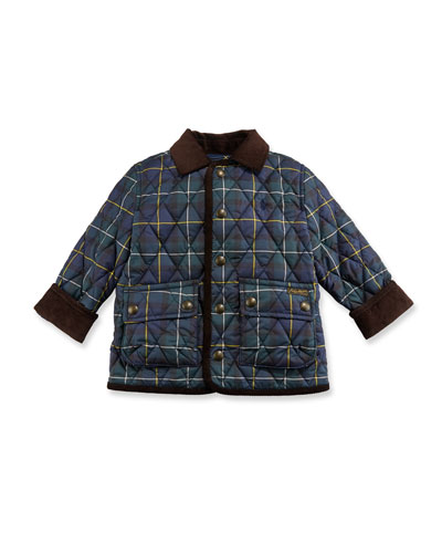 Kempton Quilted Plaid Jacket, Size 2-4  and Matching Items