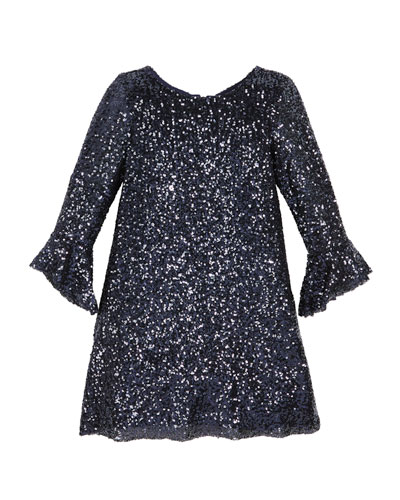 Tina Sequin Knit Dress, Size 4-6X  and Matching Items