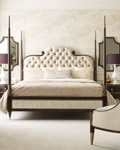 Everly King Poster Bed  and Matching Items
