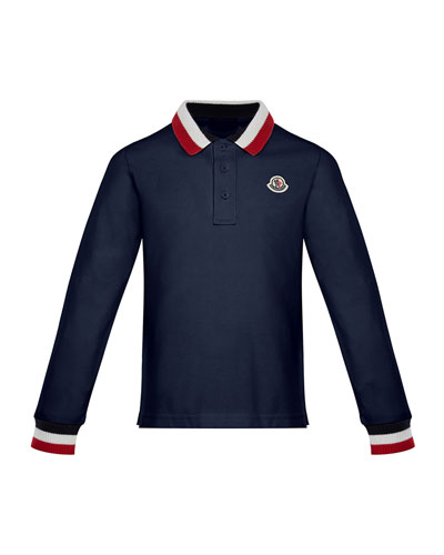 Maglia Long-Sleeve Polo Shirt, Size 8-14 and Matching Items