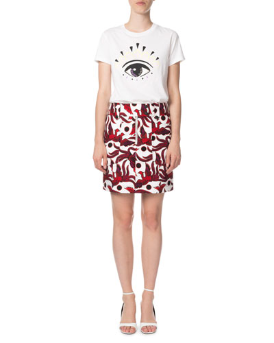 Eye-Graphic Classic Crewneck T-Shirt and Matching Items