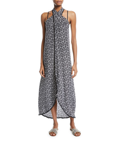 Gaia Printed Long Wrap Coverup and Matching Items