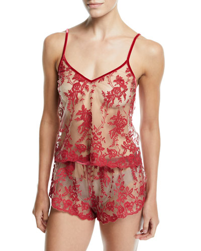 Rosie Floral Velvet Camisole and Matching Items