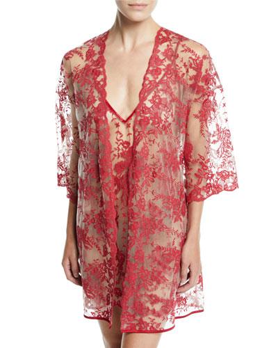 Rosie Velvet Short Robe and Matching Items