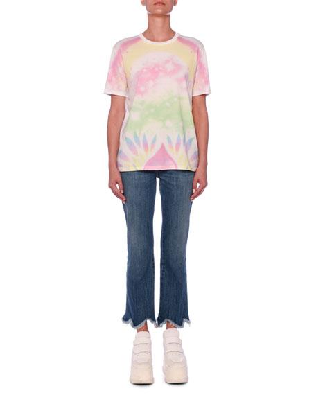 Heart Back Tie-Dye T-Shirt