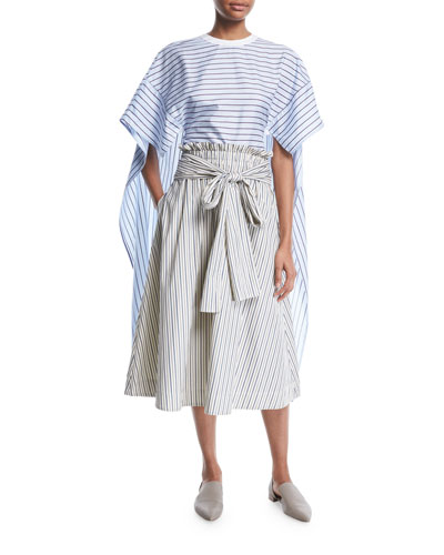 Blse Ss Stripe Shirting Cape and Matching Items