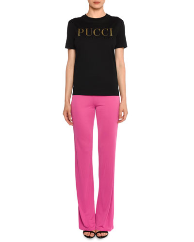 TEE SS RND NK PUCCI LOGO and Matching Items