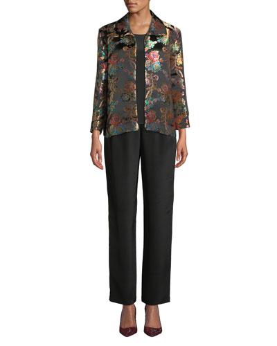 Jewel Box Jacquard Boxy Topper Jacket and Matching Items