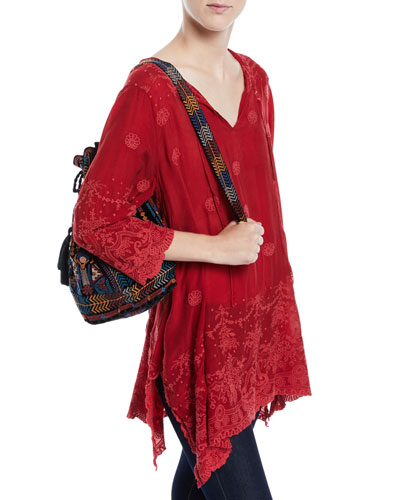 Antique Lace 3/4-Sleeve Tunic and Matching Items