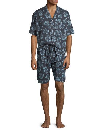 Men's Floral Cuban Short-Sleeve Shirt and Matching Items
