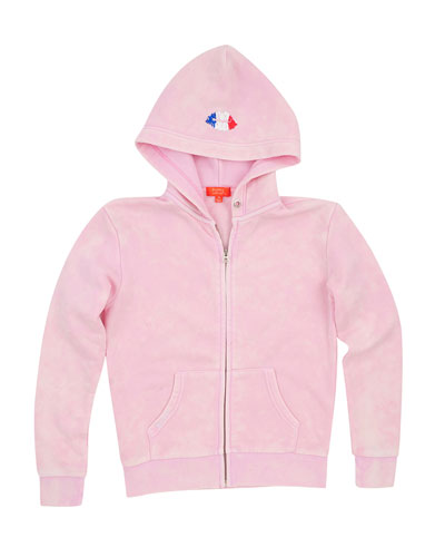 Paris Snow Wash Zip Hoodie, Size S-XL  and Matching Items