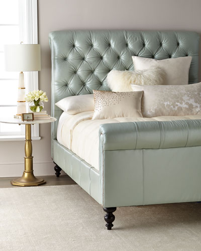 Spence Hand Tufted Queen Bed And Matching Items