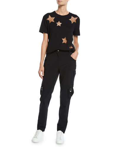 Point d'Espirit Star Cutout Tee and Matching Items