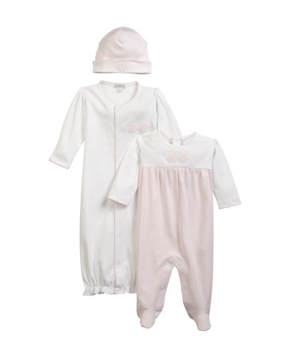 Trunk Mates Pima Convertible Gown, Size Newborn-S  and Matching Items