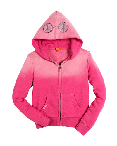 Peace & Music Burnout Fleece Zip Hoodie, Size 4-6 and Matching Items