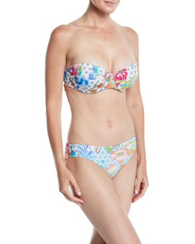 Maui Printed Underwire Bikini Swim Top and Matching Items