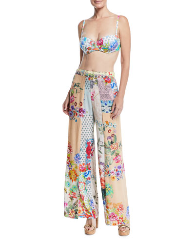 Dolce Dreamer Printed Coverup Pants and Matching Items