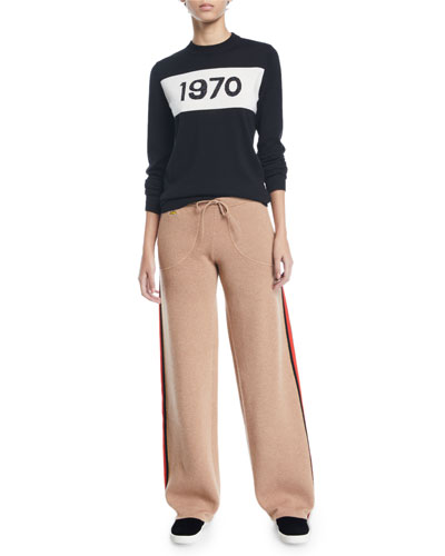 1970 Sparkle Graphic Wool Sweater and Matching Items